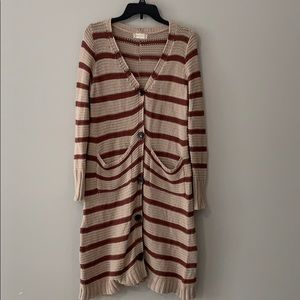 ALTAR'D STATE Long Cardigan Sweater Size s/m